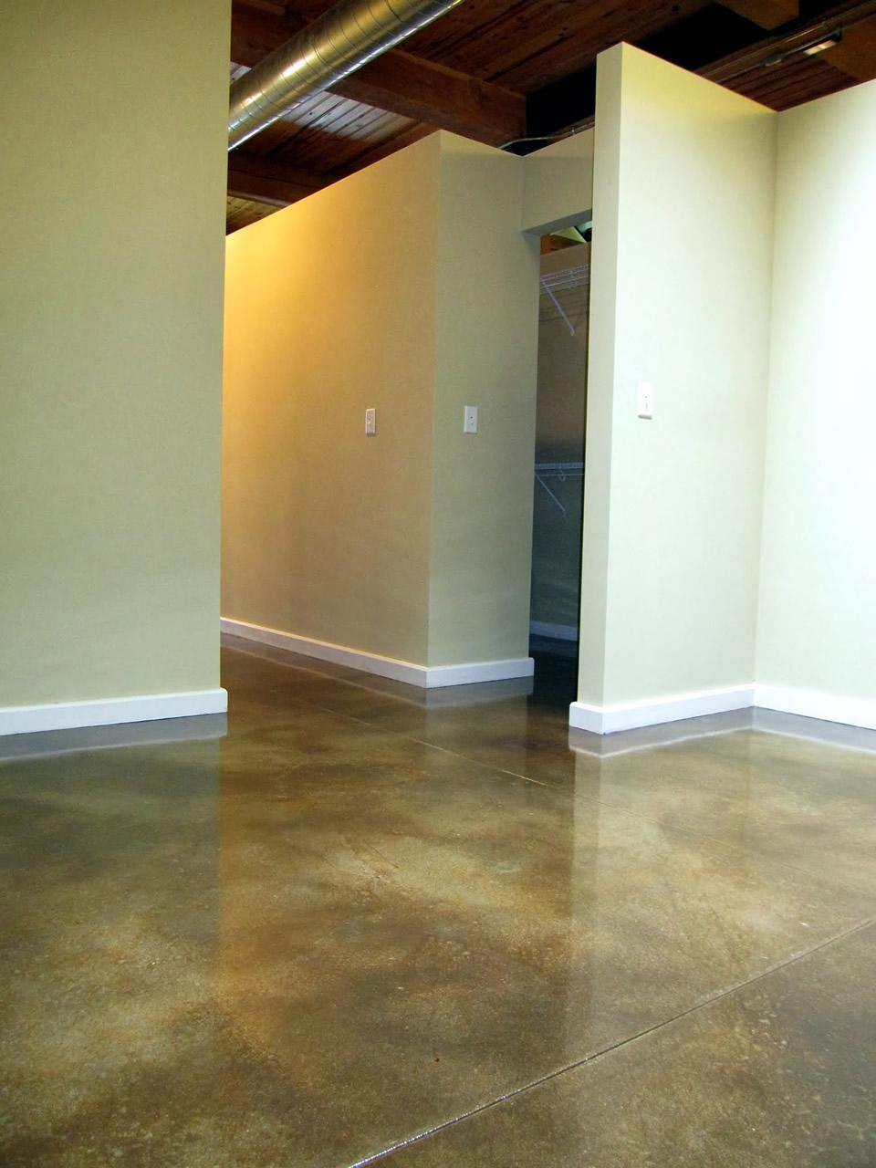 Basement Gallery Decorative Concrete Resurfacing