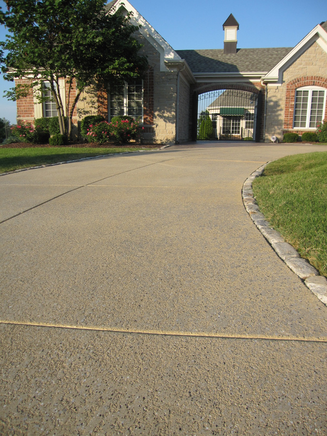 Driveway Ideas - Decorative Concrete Resurfacing