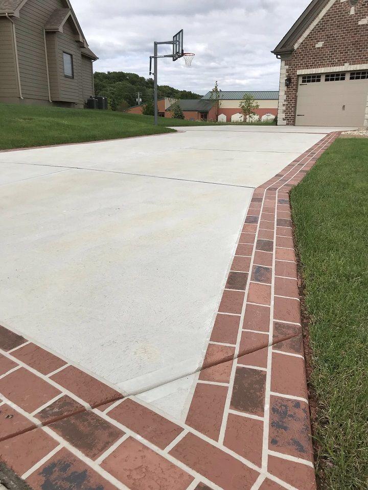 Concrete Driveway Edging Ideas
