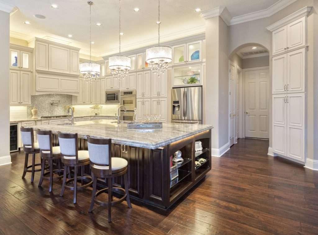wooden kitchen floor
