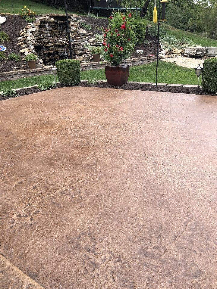 stained concrete patio st louis