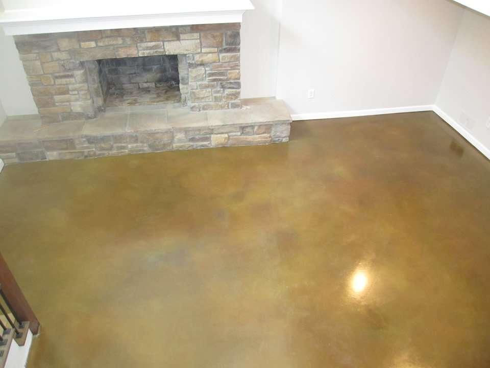 concrete interior floor refinish st louis