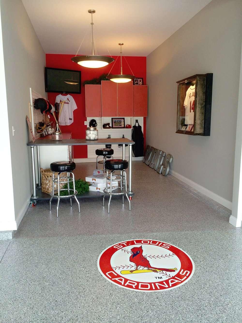 garage floor repair contractor st louis mo