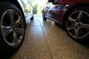 garage epoxy floor St Louis MO