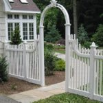 fence and arch