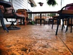 stamped concrete patio St Louis