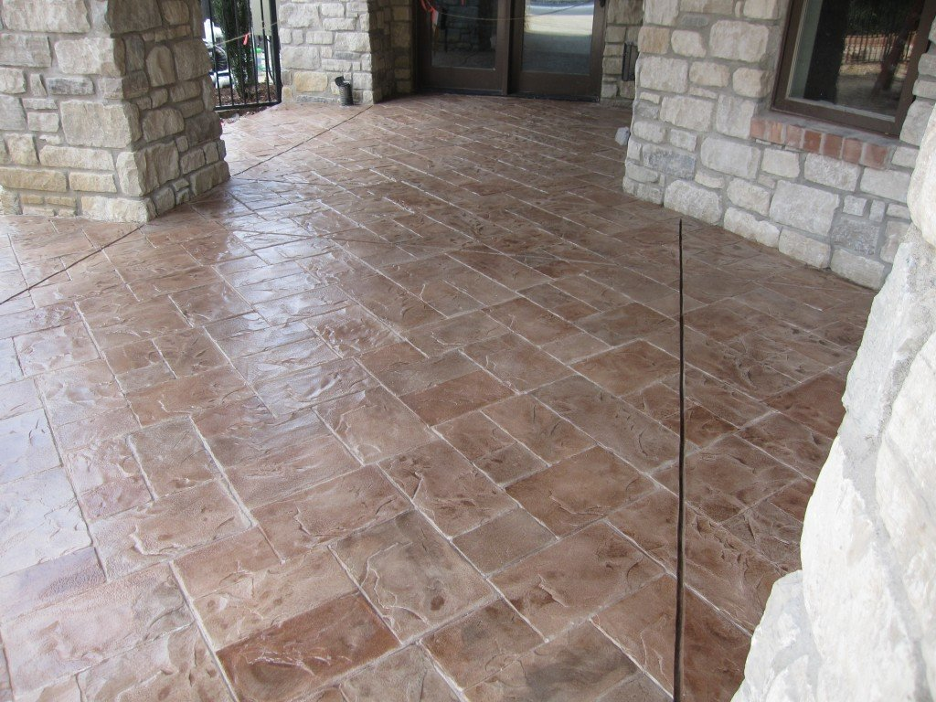 Garage Interior Ideas >> A+ Stamped Concrete Contractor St Louis, MO | CALL (636)256-6733