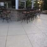 1.3 custom concrete patio St. Louis
