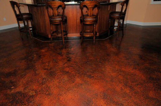 custom interior floors st louis mo colored concrete stain. Black Bedroom Furniture Sets. Home Design Ideas