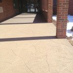 concrete resurfacing front entry St Louis MO