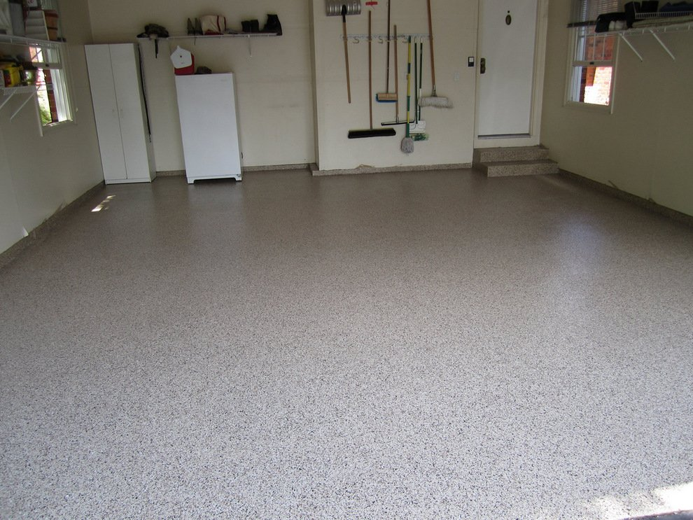 Garage floor coatings st louis mo epoxy floors alternative for Cost to build a garage st louis