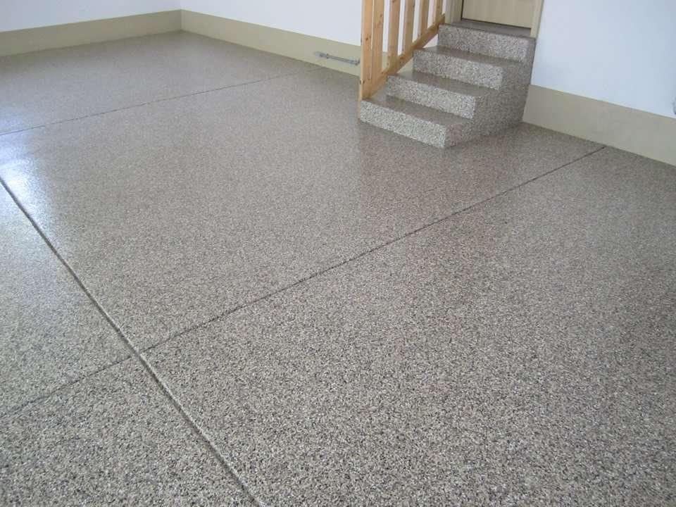 Decorative Garage Floor Coatings : Decorative concrete resurfacing