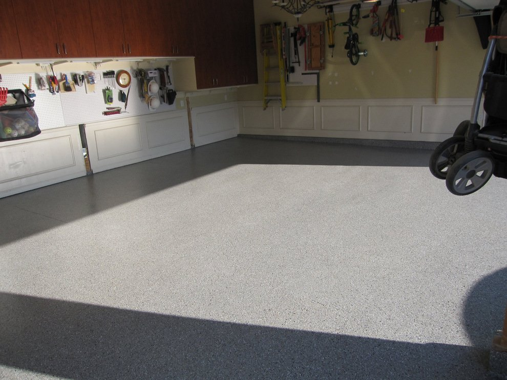 Garage floor covering st louis mo for Cost to build a garage st louis
