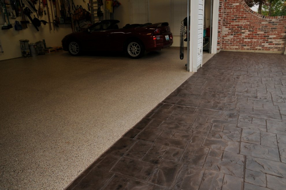 garage flooring ideas st louis m o