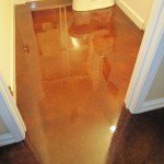 stained concrete bathroom st louis
