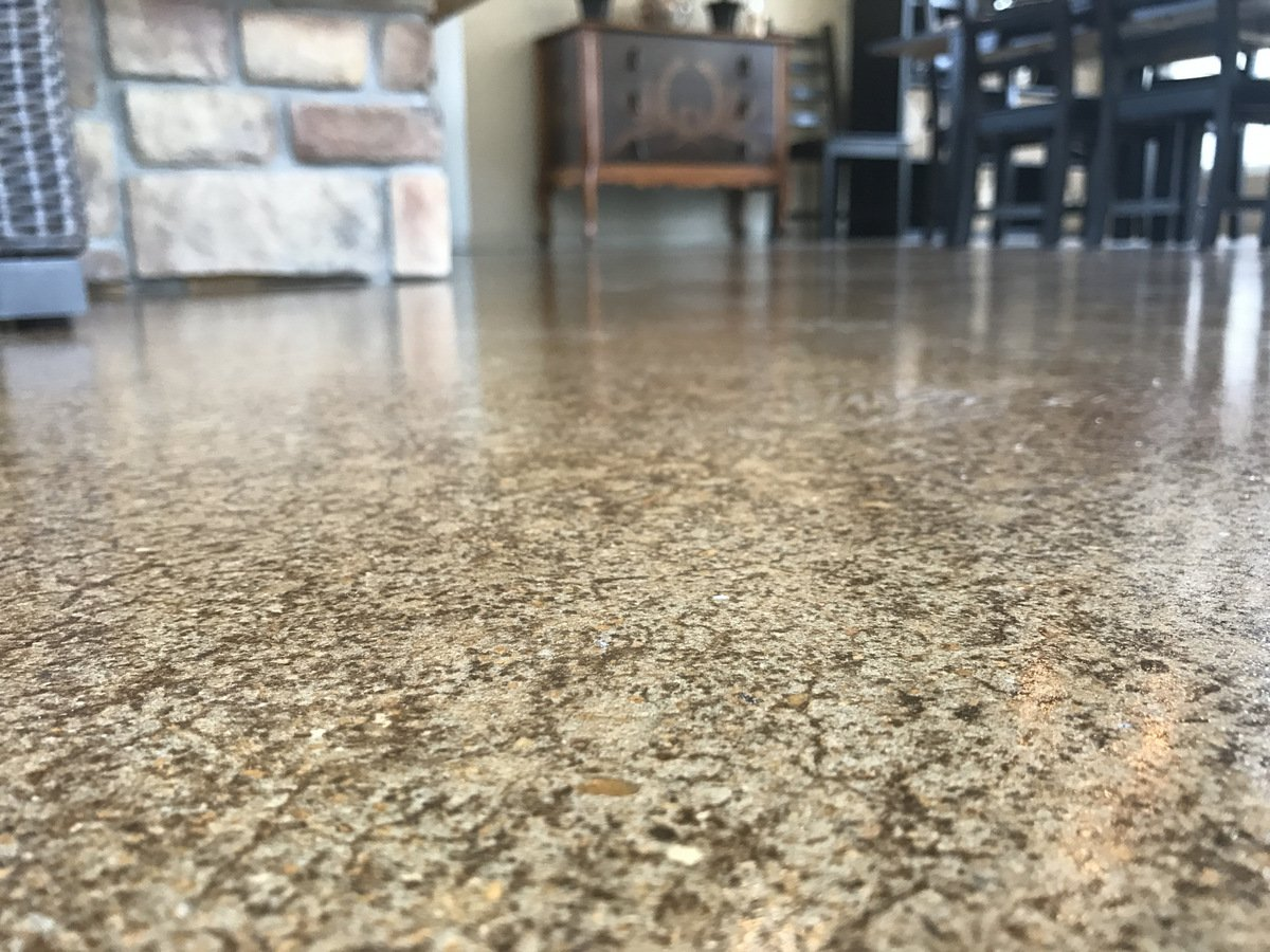 Concrete Staining 101 Acid Stain Vs Water Based Stain