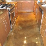 stained concrete kitchen floor st louis