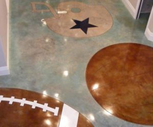 stained interior floor St Louis