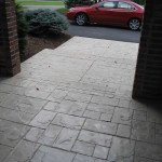 stamped concrete entry st louis