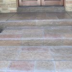 stamped concrete walkway st louis