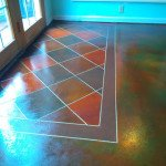 concrete floor staining st louis