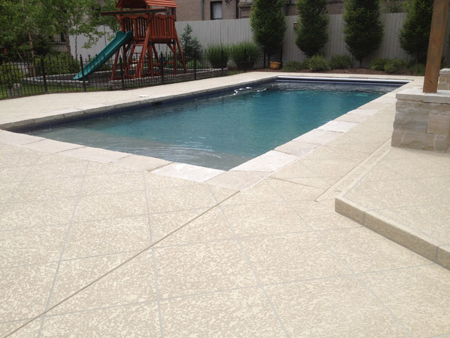 Concrete Pool Deck Design Amp Ideas St Louis Mo Concrete