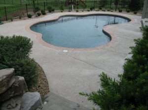 Chesterfield, Mo Pool Deck