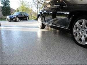 Ladue, MO garage floor