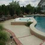 1.2 custom concrete pool deck st louis mo