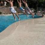 1.7 concrete pool deck st louis missouri