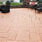 colored concrete patio stamps st louis