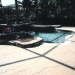 concrete pool decks custom scoreline St Louis MO