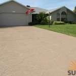 decorative concrete driveway St Louis MO