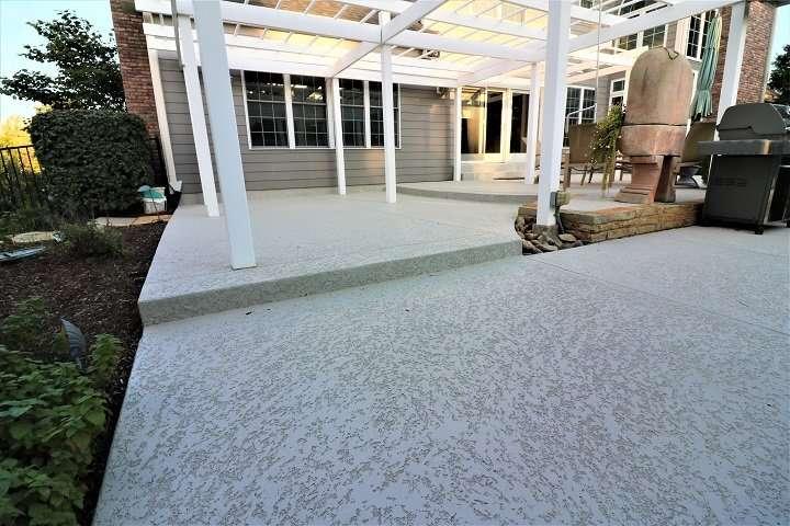 A Concrete Patio Resurfacing Refinishing Amp Repair St