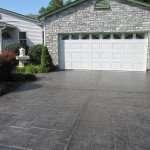 stamped concrete driveway installation st louis