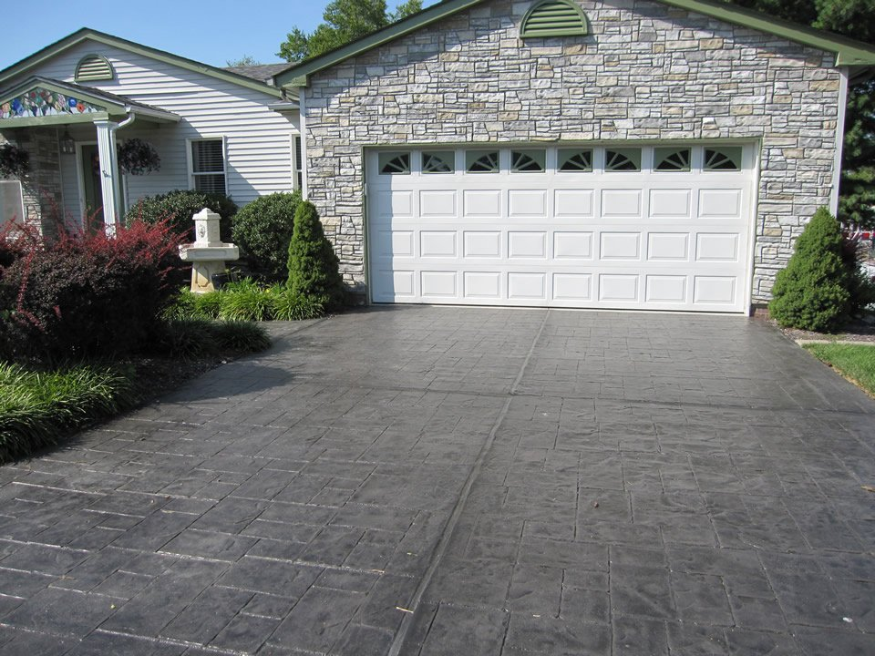 Driveway Ideas Decorative Concrete Resurfacing