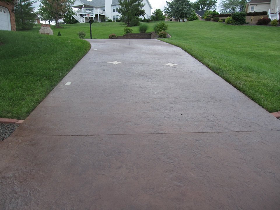 garage entryway ideas - Driveway Ideas Decorative Concrete Resurfacing
