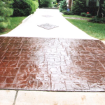 stamped-concrete-overlay-driveway