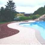 stamped concrete pool decks  saint Louis mo
