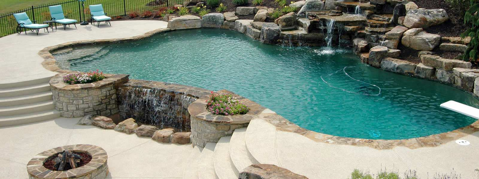 Gorgeous looking pool deck… Beat the heat!