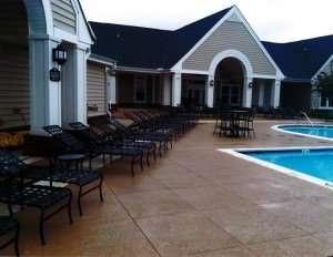 Residential Pool Deck Designs