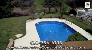 St Louis Residential Pool Decks