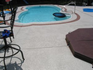 Ballwin, MO Outdoor Decorative Concrete