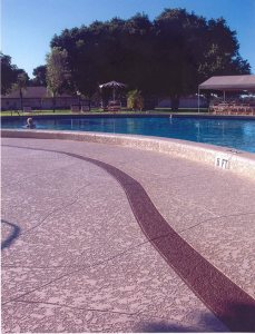 Concrete Resurfacing Pool Deck