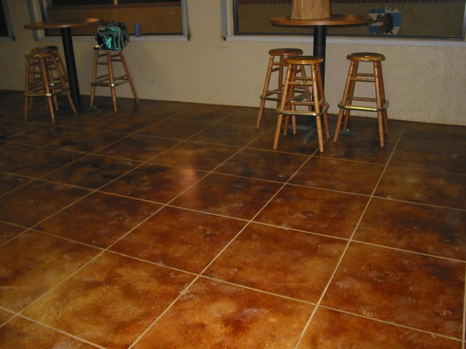 Eco-friendly Stained Concrete St. Louis MO | Water-based Stain
