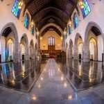 church epoxy flooring