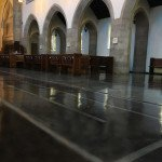 church epoxy floors