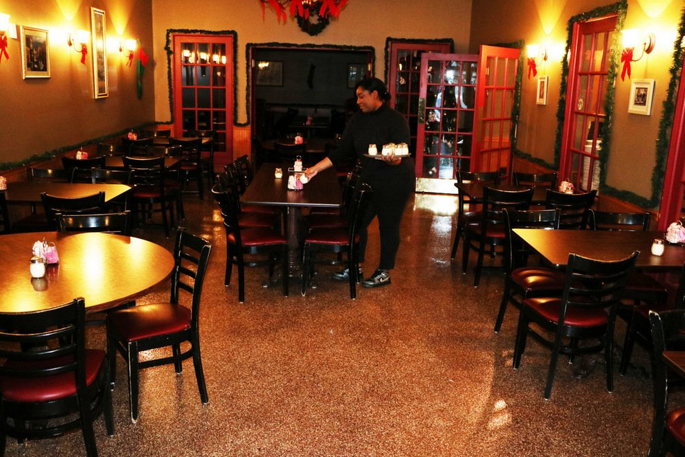 Decorative concrete resurfacing for Commercial bar flooring