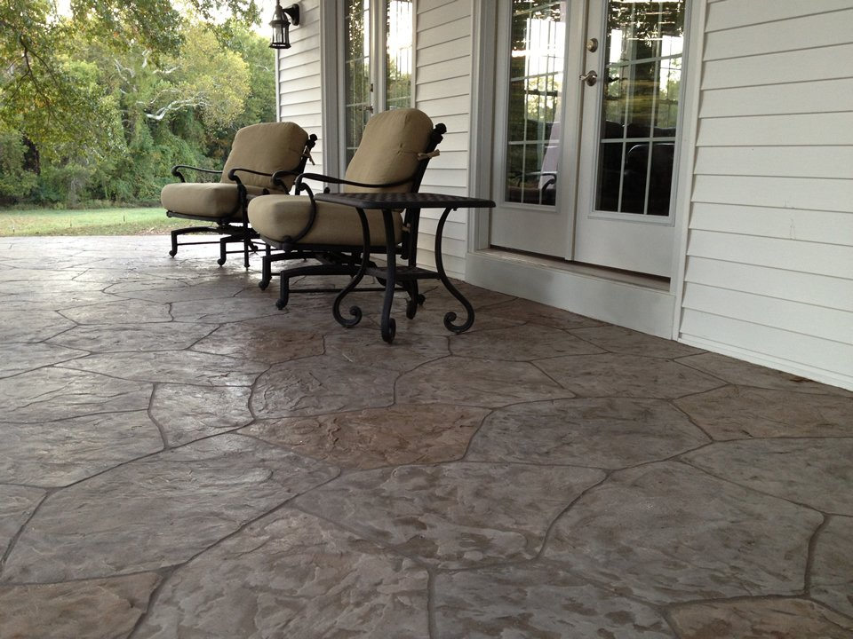 Keeping Stamped Concrete Cost At A Reasonable Level - Stamped concrete patio cost per square foot