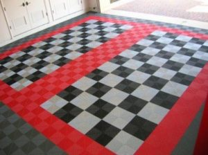 garage rubber tiles